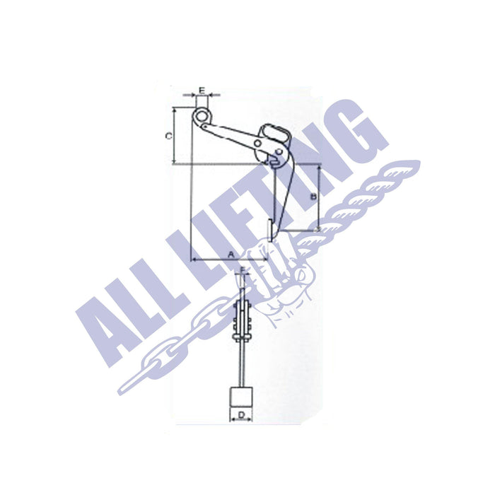 ALS Vertical Drum Lifting Clamp
