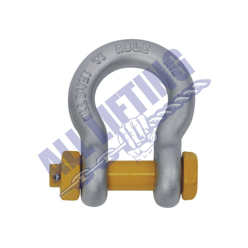 Rated Grade S Safety Pin Bow Shackle - All Lifting