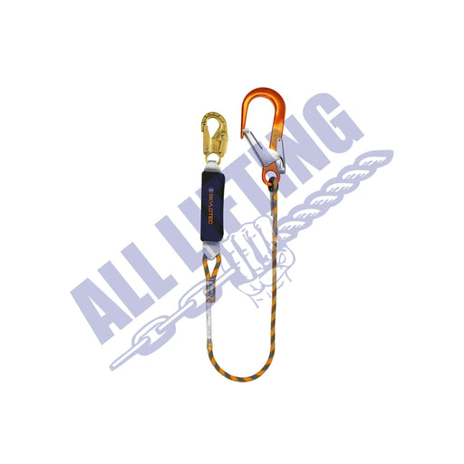 BFD SK12 Single Rope Lanyard with Snap Hook and Alu Scaff Hooks