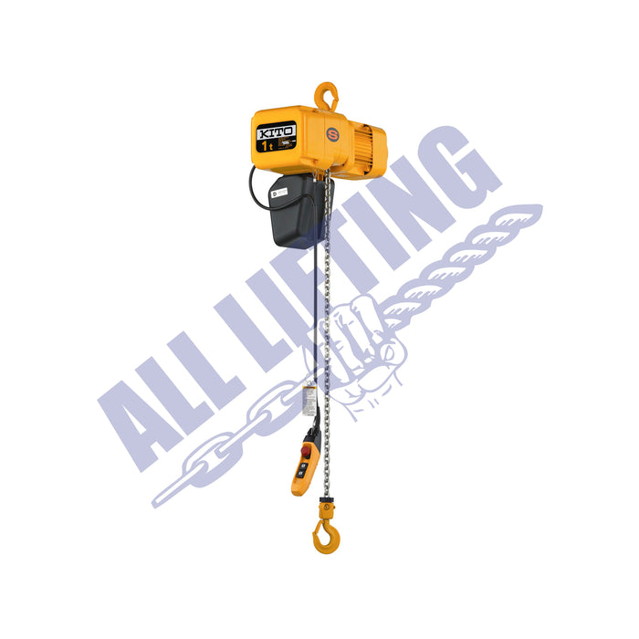 ER2 Electric 3 Phase Chain Hoist Single Speed 250kg - 5 tonne