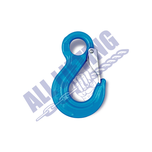 Grade 100 Sling Hook with Latch Eye Type