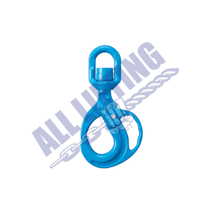 Grade 100 Swivel Grip Safe Locking Hook