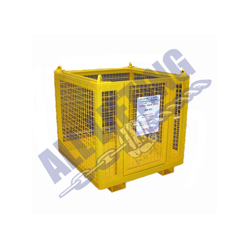 3 Person Man Cage with Door - All Lifting