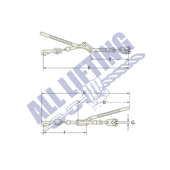 Load Binder Standard Claw