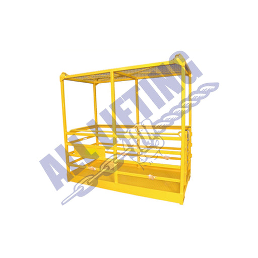4 Person Man Cage with Roof - All Lifting