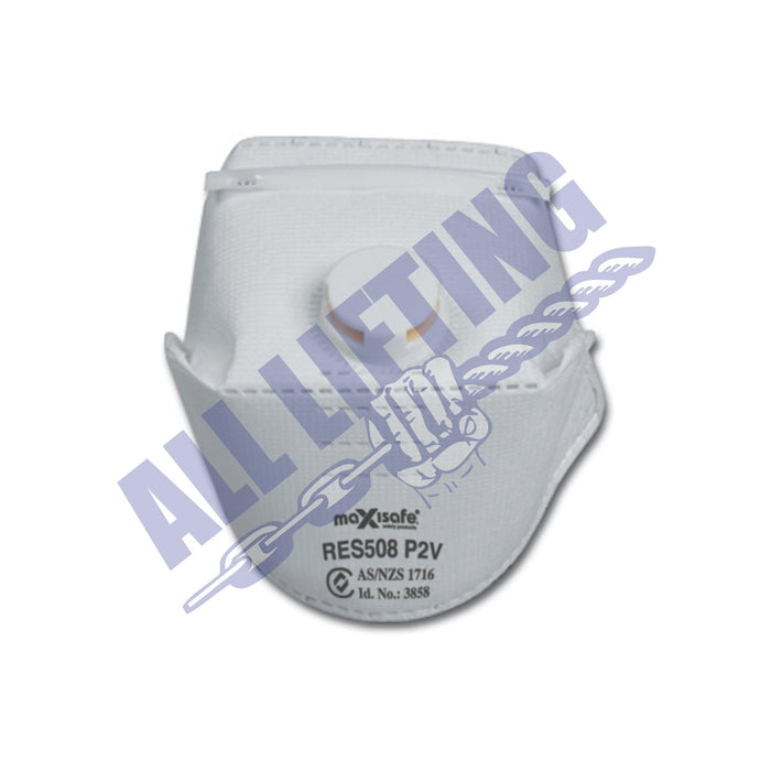 P2 Horizontal Flat Fold Disposable Respirator with Valve