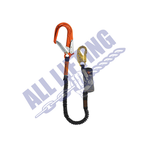 Skysafe Pro Flex Single Lanyard with Snap Hook and Alu Scaff Hook