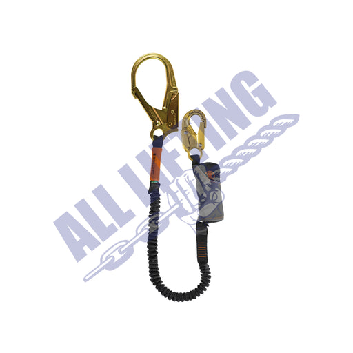 Skysafe Pro Flex Single Lanyard with Snap Hook and Steel Scaff Hook
