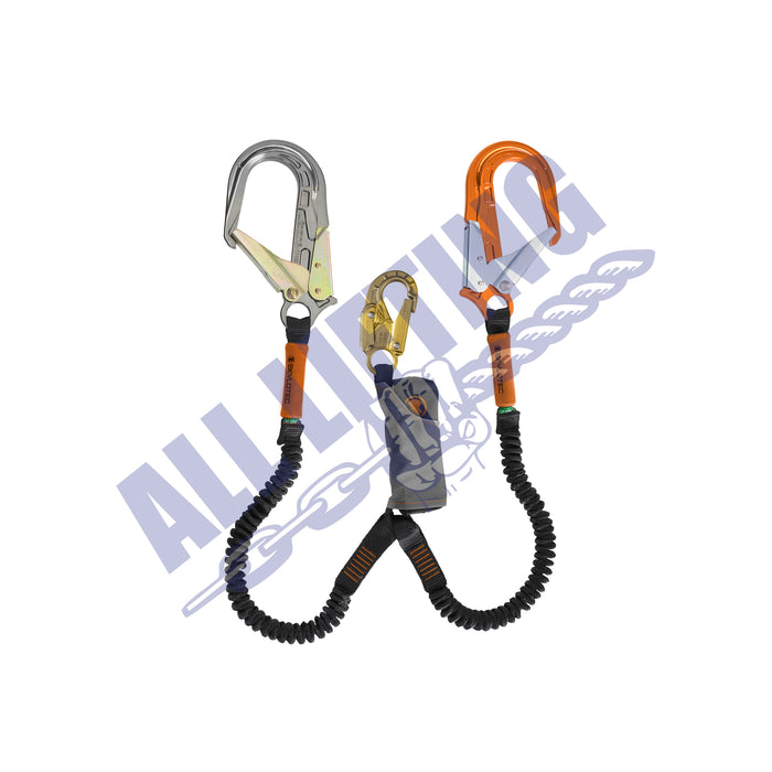 Skysafe-Pro-Flex-Twin-Lanyard-with-Snap-Hook-and-Alu-Scaff-Hook-all-lifting