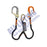 Skysafe Pro Flex Twin Lanyard with Karabiner and Alu Scaff Hook
