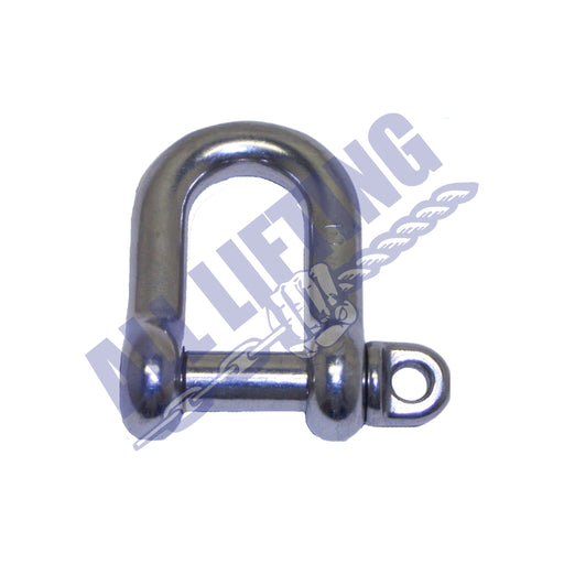 Stainless Steel Standard Dee Shackle