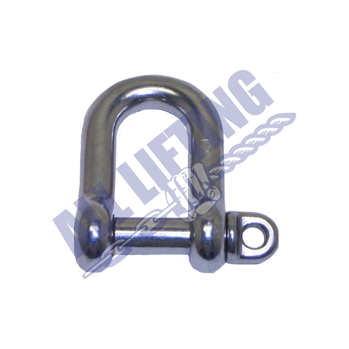 Stainless Steel Captive Pin Dee Shackle