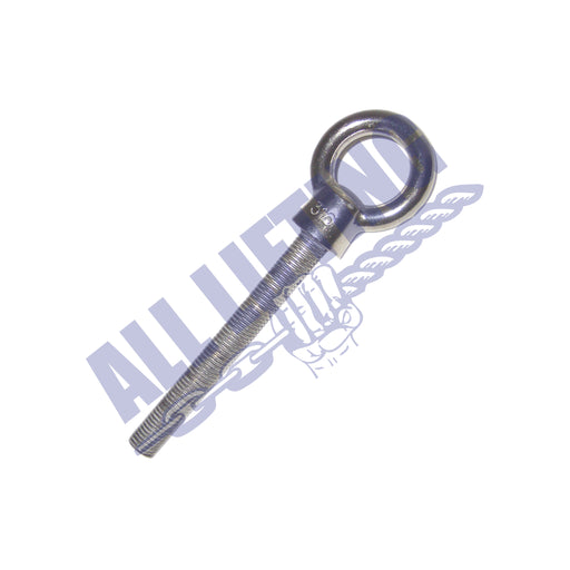 Stainless Steel Eye Bolt with Long Thread