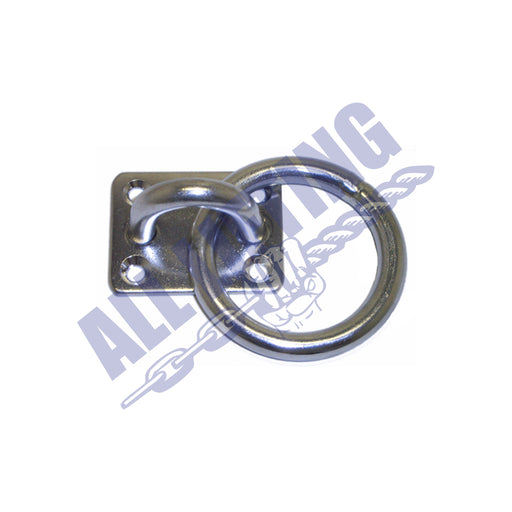 Stainless Steel Eye Plate with Ring