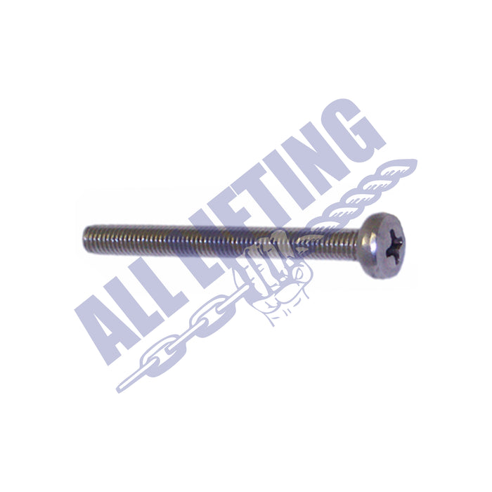 Stainless Steel Pan Head - Phillips Head Screw