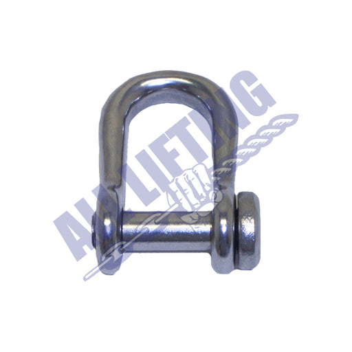 Stainless Steel Semi Round Slotted Head Dee Shackle