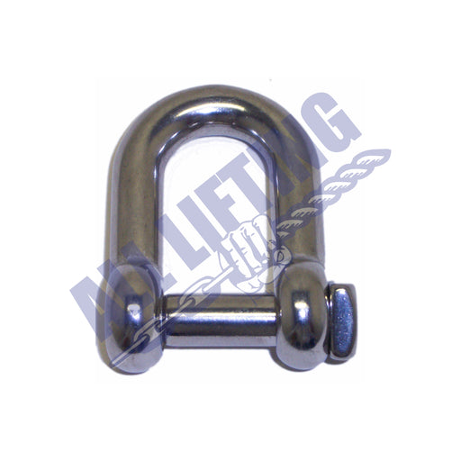 Stainless Steel Squared Head Dee Shackle