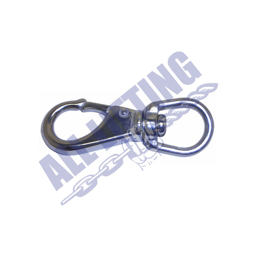 Stainless Steel Swivel Eye Bolt Snap Hook with Large Eye