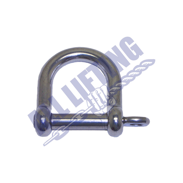 Stainless Steel Wide Dee Shackle