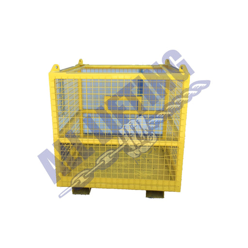2 Person Man Cage with Step in Access, All Lifting, All About Lifting