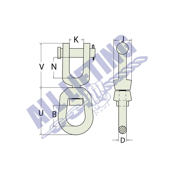 Swivel Bow Clevis Type