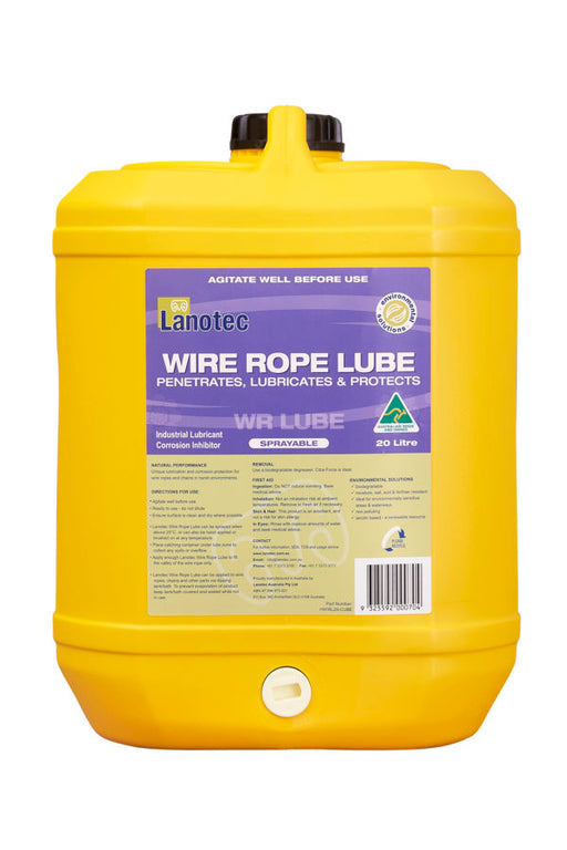 Heavy Duty Wire Rope Lube