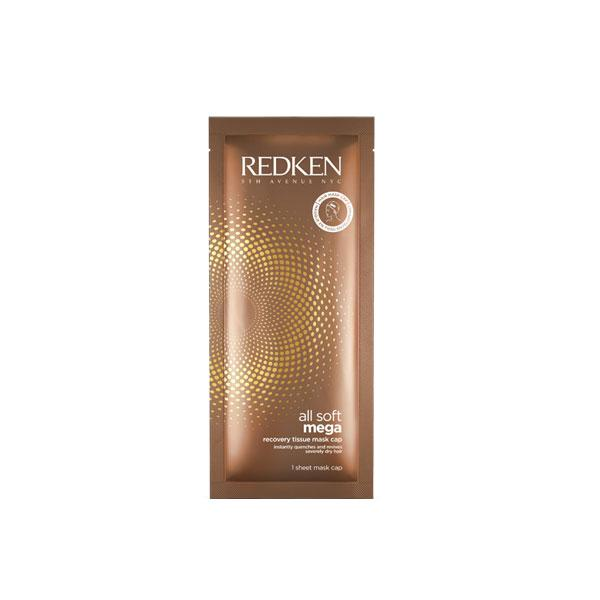 Redken - All Soft Mega Mega Mask 200ml - boîte de 10