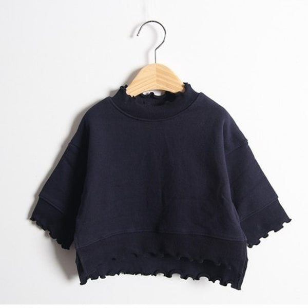 Inter Frill Tee | Korean Kids Clothes - Imaryakids