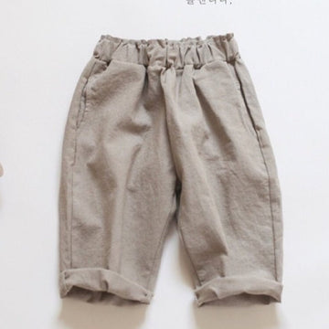 Ore Ore Linen No8 Bending Pants