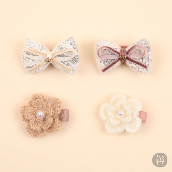 Lumen mini hairpin set | Korean Kids Clothes - Imaryakids