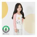 Toddler Fall Winter Homewear - Pink Giraffe