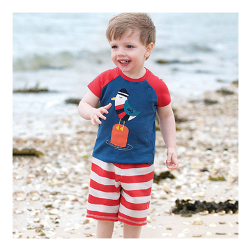 Toddler Boy Summer Set - Bird