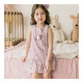 COCO RIBBON Wave Dress - Pink