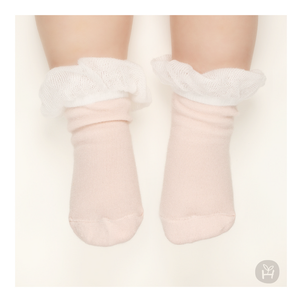 My Girl Ruffle Socks - Pink