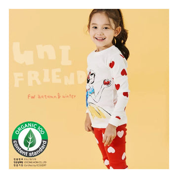 2-7 YearsToddler Fall Winter Homewear - Princess