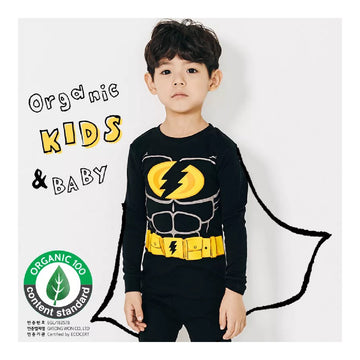 2-7 YearsToddler Fall Winter Homewear - Black Flash