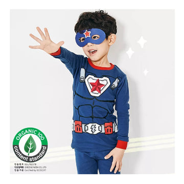2-7 YearsToddler Fall Winter Homewear - Captain of America
