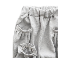 Summer Toddler Girl Casual Pant -gray