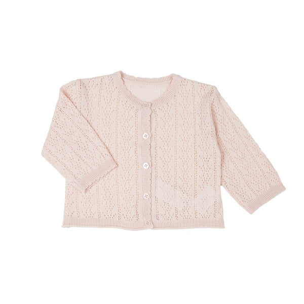 Happy Prince Are knit cardigan-Pink Fall fashion
