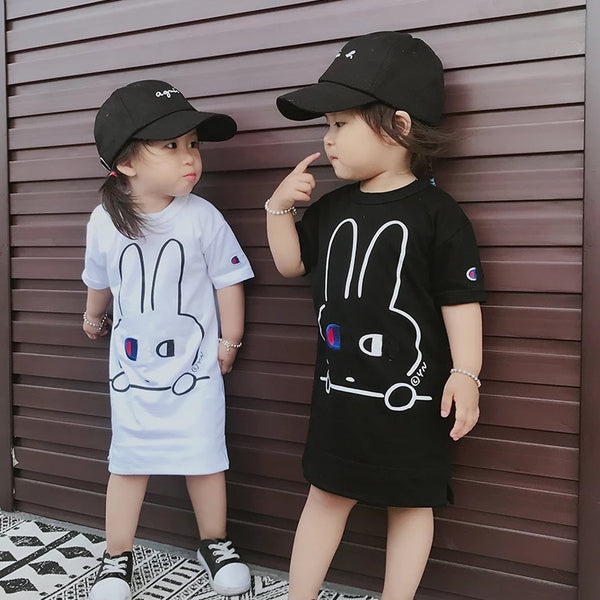 Cham Bunny Dress Tee