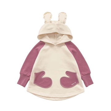 Toddler Girl Rabbit Hoodie