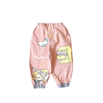 Toddler Girl Pant - Pink