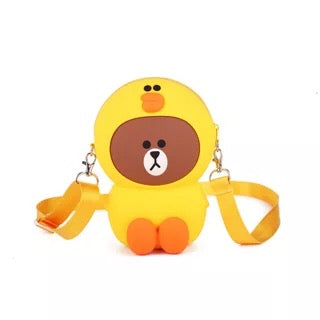 Crossbody Bag - Duck Bear, Adult and Kids