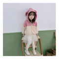 Toddler Fall Jacket with Bunny Ears秋季儿童兔子耳朵外套