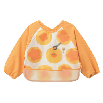 Baby Bib Smock - Fried Eggs