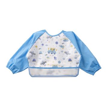 Baby Bib Smock - Light Blue - 6-3years