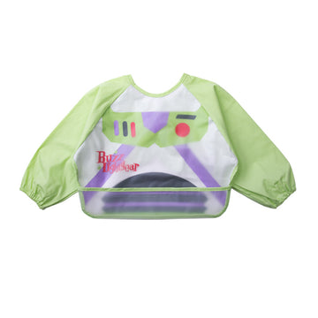Baby Bib Smock - Green Buzz-6-3years
