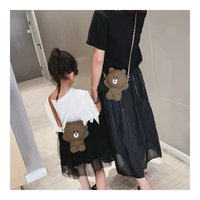 Crossbody Bag - Bear, Adult and Kids