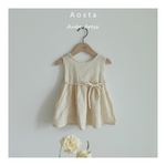AOSTA Aube Dress - Beige