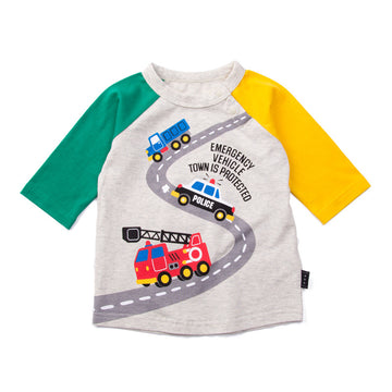 "Small car 7"" Sleeve T-shirt"